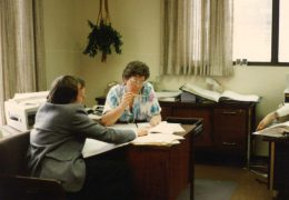 1987-Roar-Becomes-Owner---Roar-Tungland-&-Nola-Lyseng